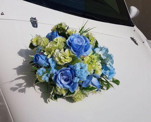 Blumenschmuck 5: Blau Grün
