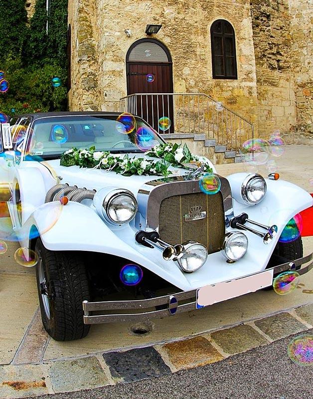 Hochzeitsauto Strechlimousine