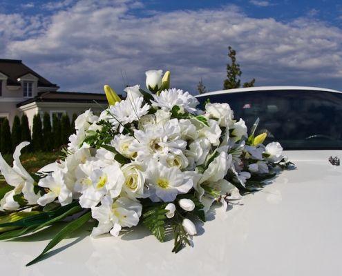 Blumenschmuck 2: Weiß Klein