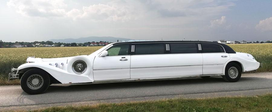 Lincoln Excalibur Brautauto Mieten