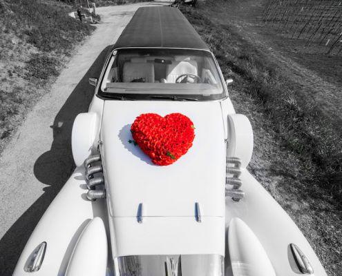 Blumenschmuck Rotes Herz
