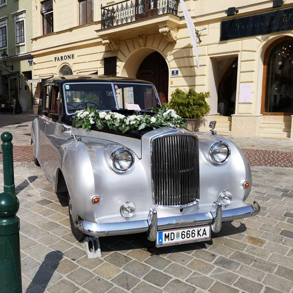 Oldtimer Hochzeitsauto Wien