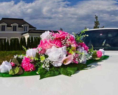 Auto Blumenschmuck 4