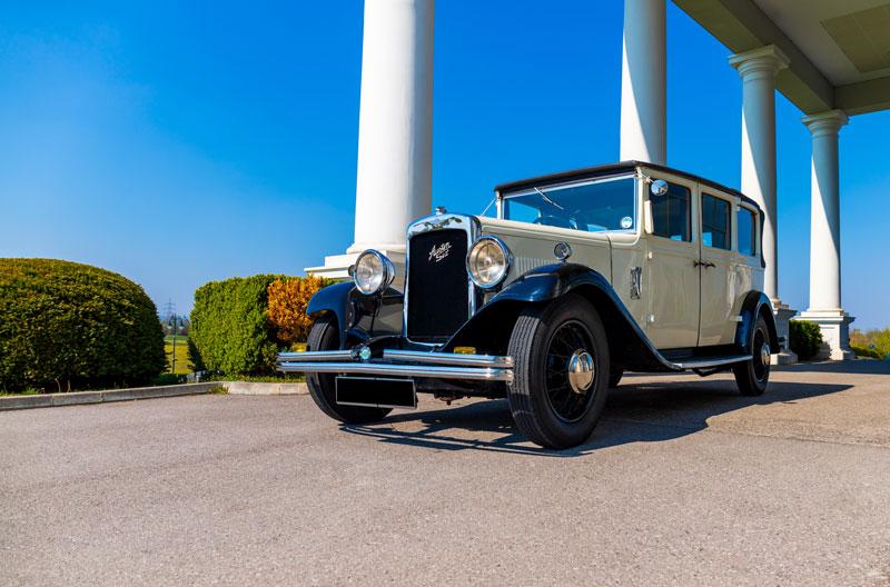 Oldtimer Austin Six Limousinenservice Wien