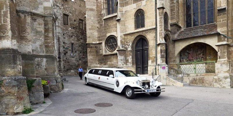 Stretchlimousine Hochzeitsauto