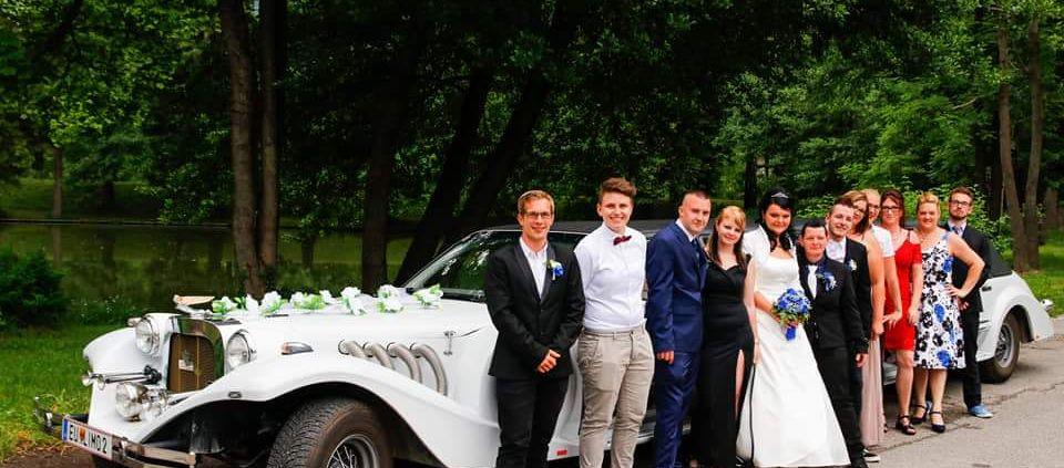 Hochzeitsauto in Reichenau an der Rax