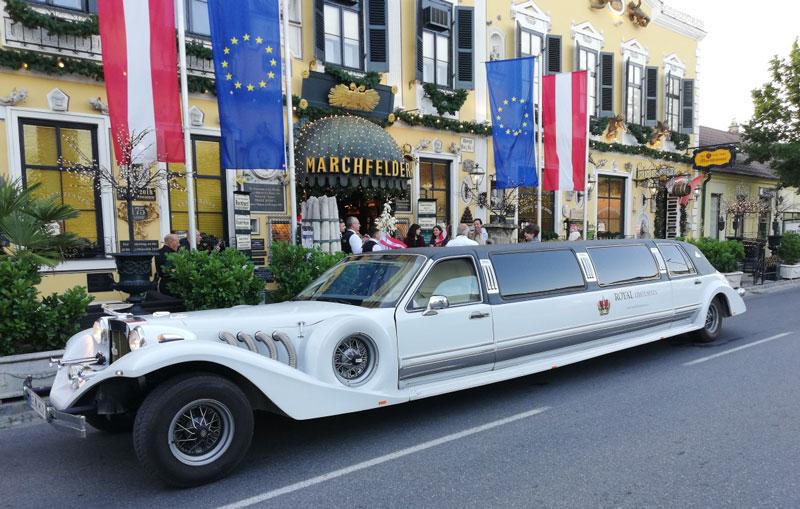 Limousine mieten zum Marchfelderhof