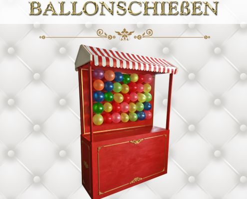 Ballonschießen XL Spiele
