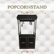 Popcornstand schwarz mieten